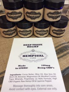 Hempsual ~ Deep Tissue Relief CBD Ointment